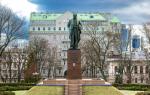 Taras Shevchenko monument à Kiev (Monument Taras Shevchenko)