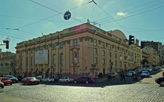 teatro teatro ruso Lesya Ukrainka (Lesia Ukrainka Teatro Dramático Ruso Kiev)