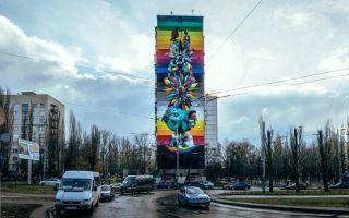 la 24 la plupart des belles peintures murales et populaires à Kiev