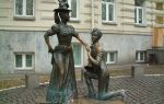 Monument to Pronia Prokopivna and Holokhvostogo