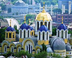 Catedral de Volodymyrskiy em Kiev (Cathédrale Saint-Volodymyr)