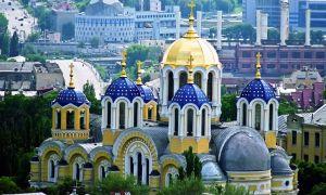 Catedral de Volodymyrskiy em Kiev (La catedral de San Volodymyr)
