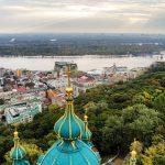 Andreevskaya kiev igreja de cima