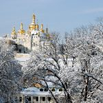 Monastery of the Caves - Pechersk Lavra - In the winter