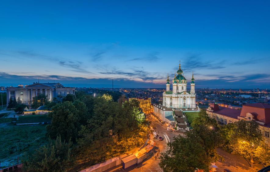 Eglise de Saint-André Kiev