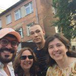 Guia que fala português em kiev